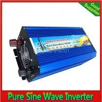 3000 Вт Чистая Синусоидальная волна солнечной энергии инвертор постоянного тока 24 В к AC 220 В