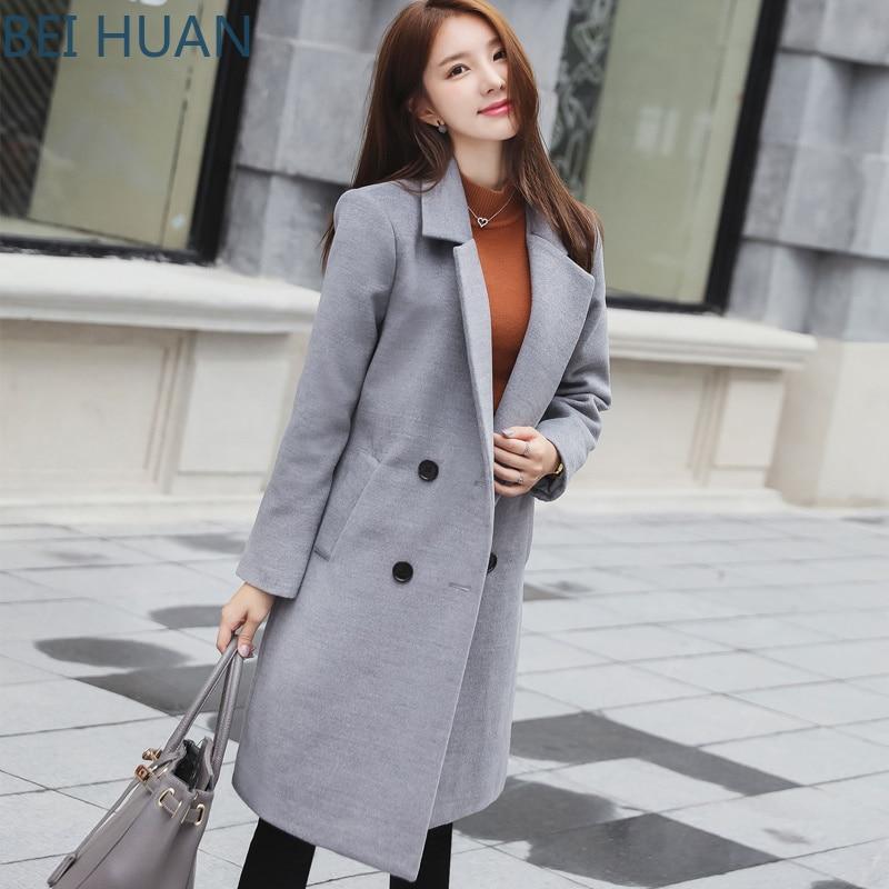 2019 Abrigo Mujer Sobretudo для женщин s пальто для будущих мам осень и зима Корейская версия большой код в длинное купить на AliExpress