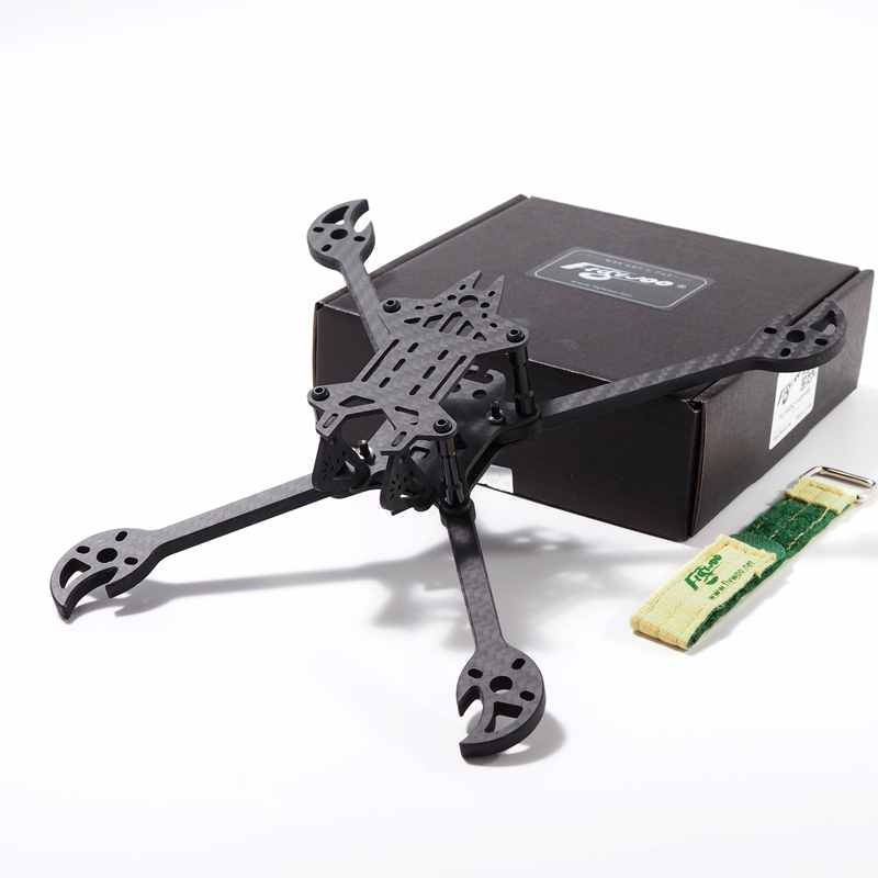 Upgrade 2019 FLYWOO Vampires 230mm 5 Inch FPV Racing Frame Kit 5mm Arm Supports Foxeer Monsters