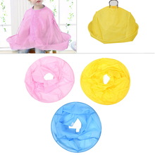 Cute Kids Hair Care Shampoo Capes Cut Clothes Waterproof Haircut Baby Children Accessories 3 Colors Hot Sale