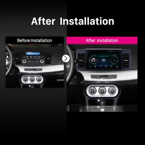 Image 5 - Harfey Android 8.1 10.1 inch 2din HD Touchscreen GPS audio Stereo for Mitsubishi Lancer ex car multimedia player with Bluetooth