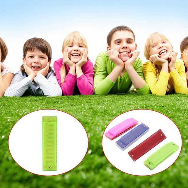 ИРИН портативный музыкальный инструмент универсальный 10 отверстий ABS губные гармоники пластиковые детские музыкальные Повседневные детские игрушки губные гармоники
