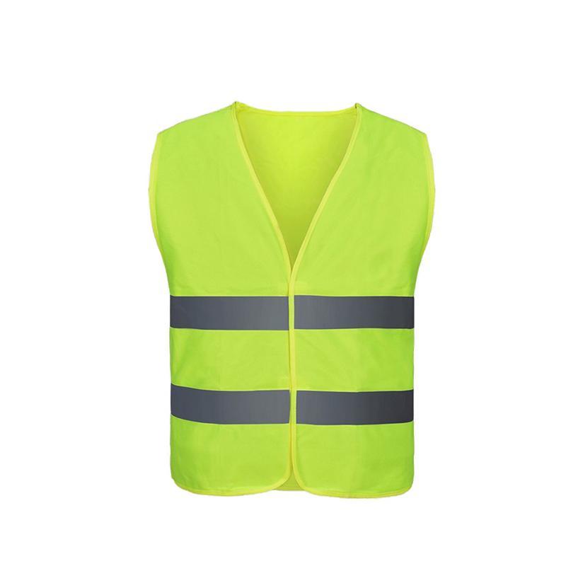 Image 2 - Unisex Car Motorcycle Reflective Safety Clothing High Visibility Safety Reflective Vest Warning Coat Reflect Stripes Tops Jacket-in Reflective Safety Clothing from Automobiles & Motorcycles