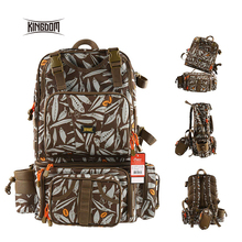 Kingdom Multifunctional Fishing Backpack Tackle Bag Detachable Combination Lure