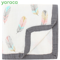Thick Super Soft Diapers for Newborn Baby Blanket Bamboo Cotton Muslin Swaddle for Kids Children Bedding Wrap Bath Towel Photo