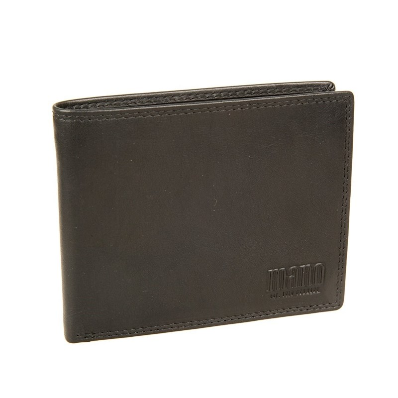 Coin Purse Mano 19014 sutura black