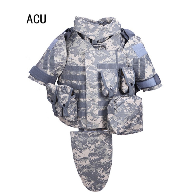 Army Fans Field Camping Combat Tactical Body Protective Vest Outdoor Hunting Shooting Training Sports Camo Military