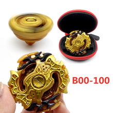 Boy Toy Blade Gyroscope No-Launcher Gold-Edition Metal Babled Child Gift Box And Fusion-Rotate