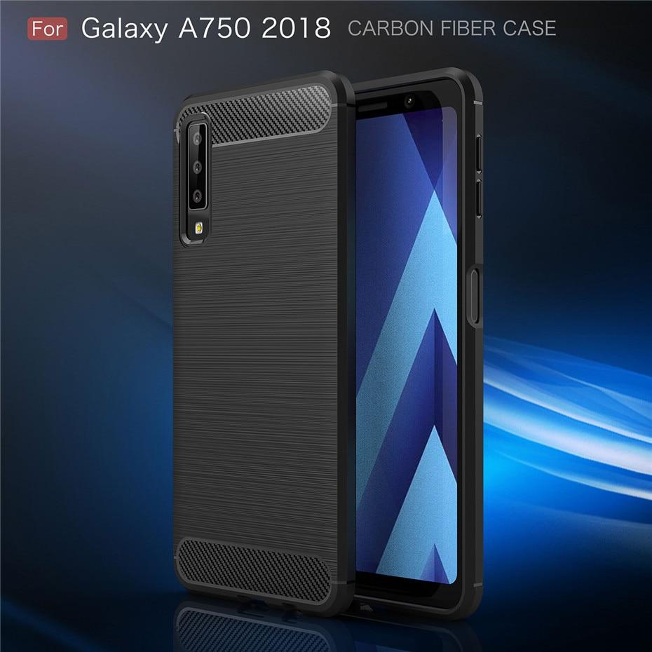 For Samsung A9S A8S A6S S10 E Case Armor Soft TPU Back Cover For Samsung J4 J6 A6 A8 Plus A7 2018 A750 Fundas Coque Case