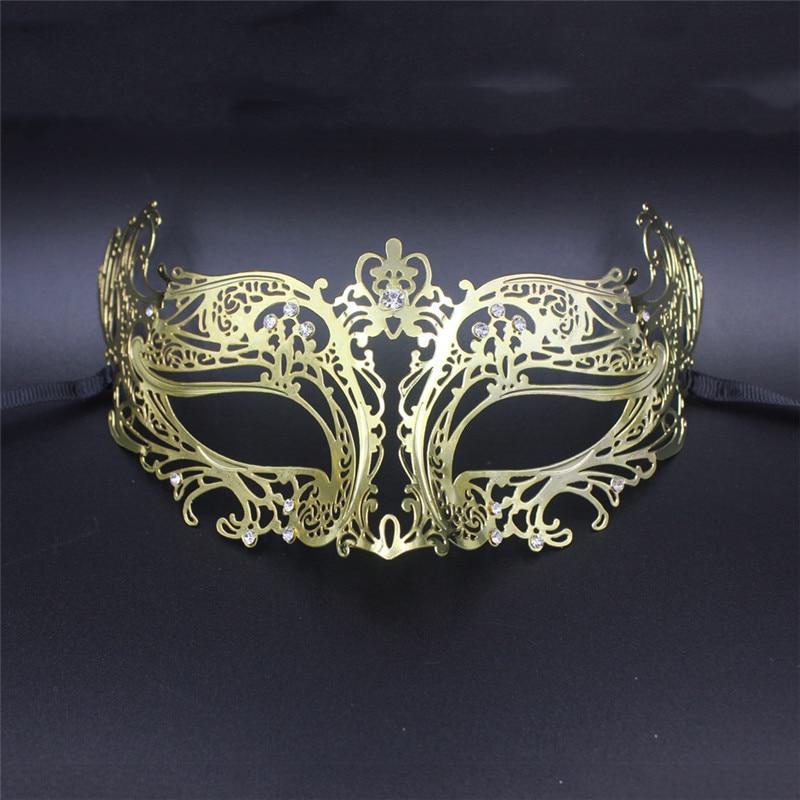Black Silver Laser cut Venetian Masquerade Mask 4 wedding porm Party female male