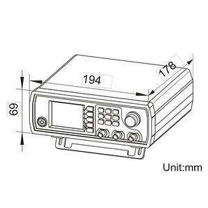 Image 5 - Enchufe europeo Jds6600 60M generador de señal de 60Mhz Control Digital función Dds de doble canal generador de señal medidor de frecuencia Arbitrar