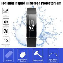 Get more info on the 3/5PCS HD Protector Film For Fitbit Inspire HR Inspire Explosion-proof Anti-shock Soft Film Case Transparent TPU Screen