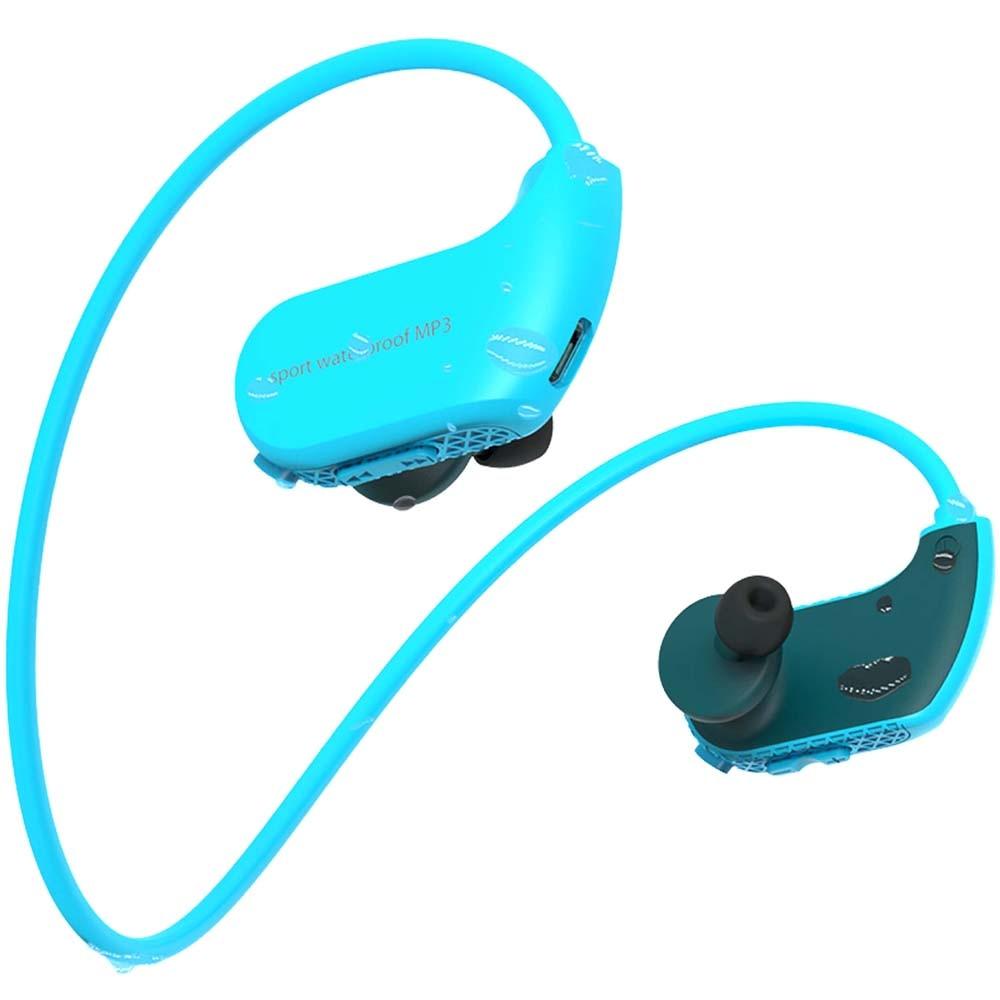 Mode extérieur IPX8 étanche Sport plongée en cours d'exécution natation écouteurs lecteur MP3 8 GB mémoire anti-poussière HiFi musique casque