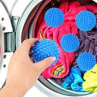 Laundry Balls Magic Washing Tool PVC Dryer Balls Cleaning Drying Fabric Softener Ball for Washing Machine Reusable