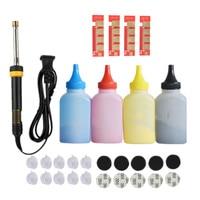 Refill toner Powder cartridge tool kit + 4 chip for samsung CLT 409S 409S CLP 310 315 310N 315W CLX 3170FN 3175N 3175 3175FN/FW