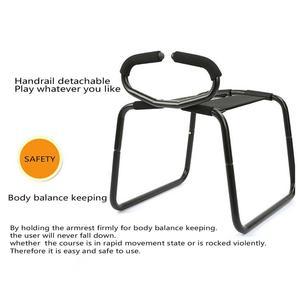 Image 5 - Jouet multifonction de nouveauté de chaise de rehausseur de Position de sexe avec la main courante pour des Couples