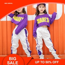 Autumn Girl Set Clothes For Children Letter Crop Top Long Sleeve And White Pant Two Piece Kids Sportwear Teen Girls Clothing shein apricot appliques button top and shorts elegant girls clothing two piece set 2019 spring fashion vintage children clothes