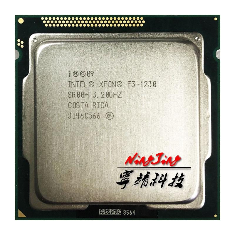 Intel Xeon E3 1230 E3 1230 3 2 GHz Quad Core CPU Processor 8M 80W LGA