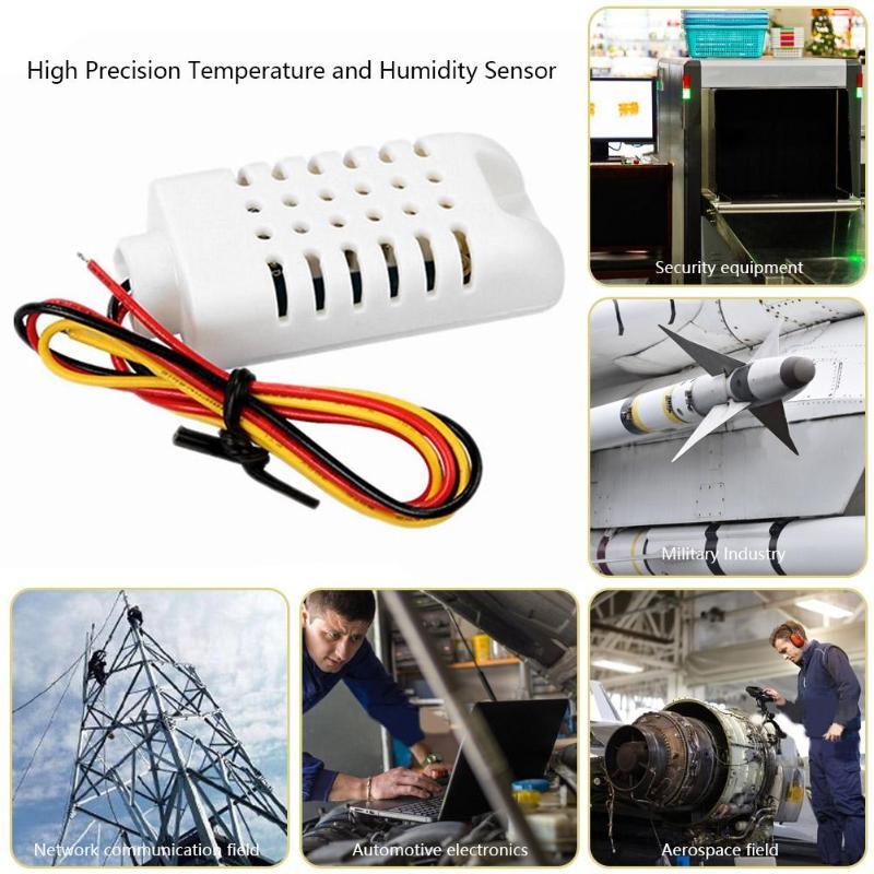 Digital Temperature Humidity Sensor Module Resistive Plastic Module Probe Measuring Instruments AM2302B model