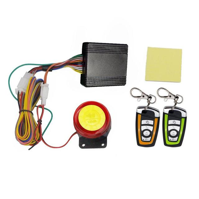 2019 Baru Sepeda Motor Alarm Sistem-Anti-Theft Alarm Perlindungan Remote Control 150 M Universal Scooter Helikopter Sepeda Motor