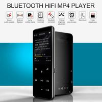 2019 Fashion Portable Bluetooth MP4 Player Touch Screen FM Radio Video TF Card Recorder Pen Movie Mp3 Mp4 Player 16GB 8GB