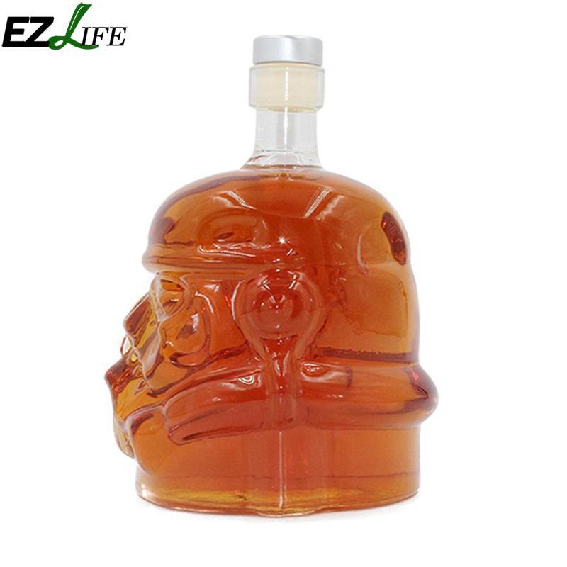 Cool Crystal Glass Wine Decanter Bottle Stormtrooper Wine