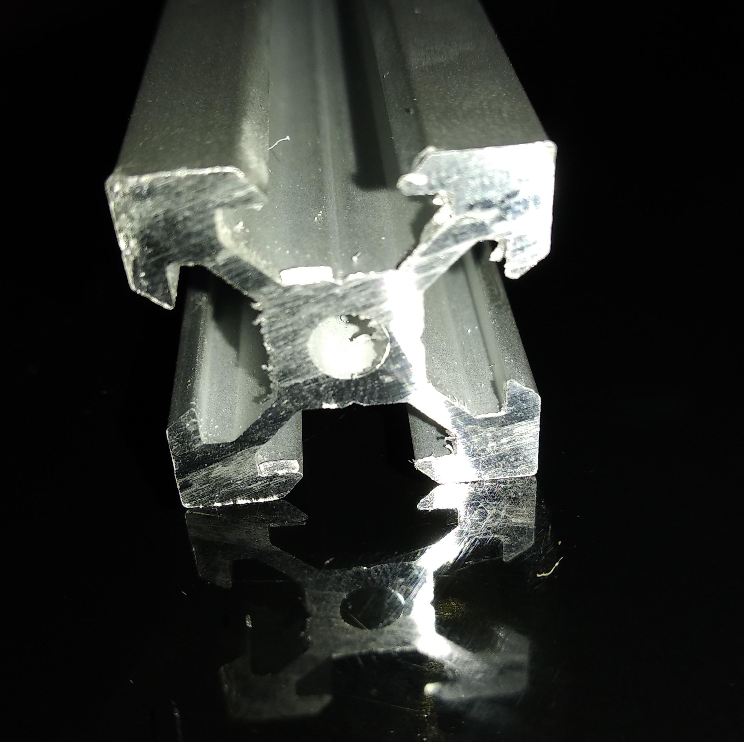 1PCS V slot Aluminum Profile 2020 Extrusion European Standard Anodized Linear Rail Aluminum Profile for 3D parts CNC
