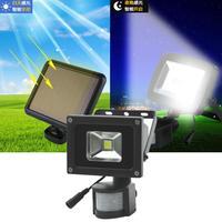 Sensor Lamp Lighting LED Camping Wall Outdoor 3 Light Infrared IP65 Garden Waterproof Courtyard Outdoor Powered Solar 7V