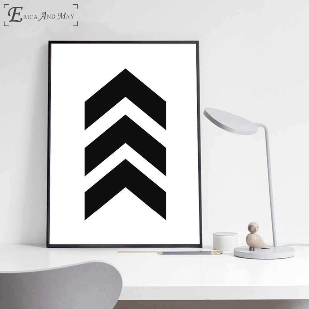 Arrow Set Scandinavian Artwork Canvas Painting Posters And Prints For Living Room No Framed Wall Art Picture Home Decor On Sale