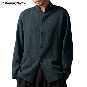 INCERUN Chinese Style Mens Shi