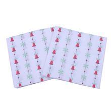 20 шт одноразовые обеденные красочные салфетки с темой Рождества колокольчик бумажные салфетки бумажные полотенца для детей взрослых Рождественская вечеринка