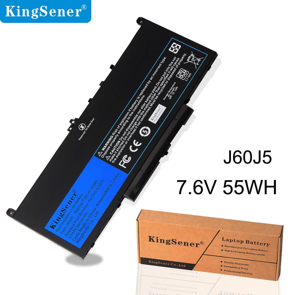 KingSener 7.6V 75WH J60J5 Laptop Battery For Dell Latitude E7270  E7470 Series 2 Years Warranty