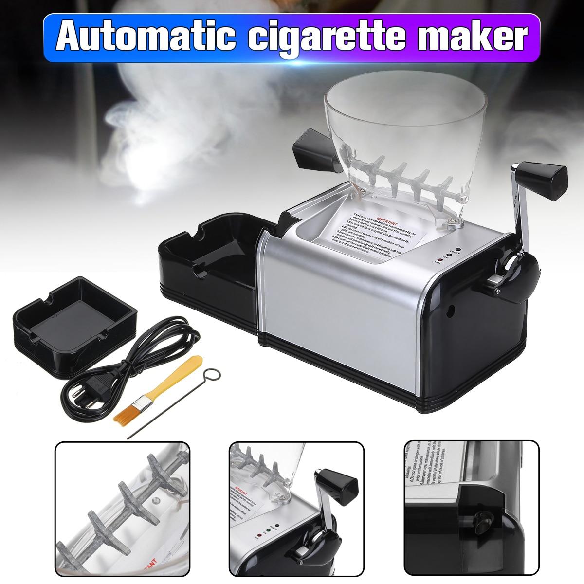 Elettrico automatico Che Fa La Macchina di Laminazione di Sigarette Macchina Tabacco Elettronico Degli Iniettori Maker Roller Facile Portatile Strumento di Fumare