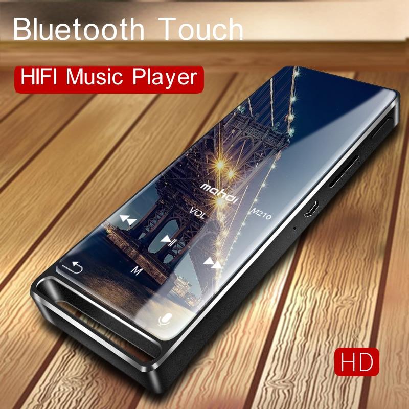 HD enregistrement vocal Bluetooth MP3 lecteur de musique Portable baladeur 16G mémoire 4 couleurs prise en charge 128 GB SD Expansion 1.8 pouces écran - 3