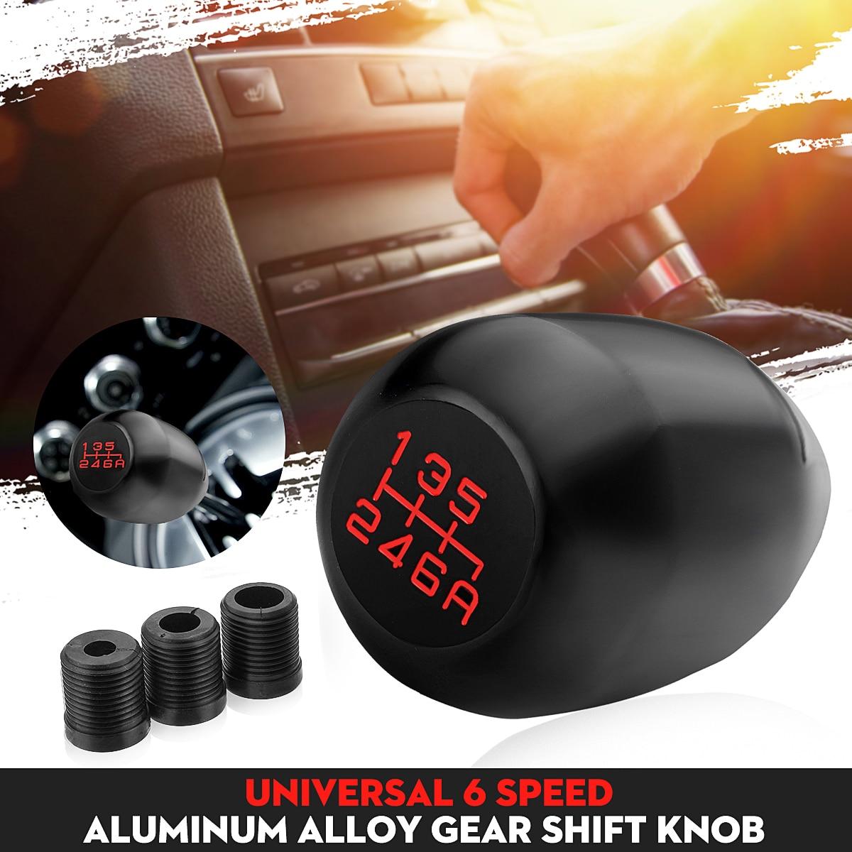 Aluminum Alloy Car 6 Speed Gear Shift Knob For Honda For