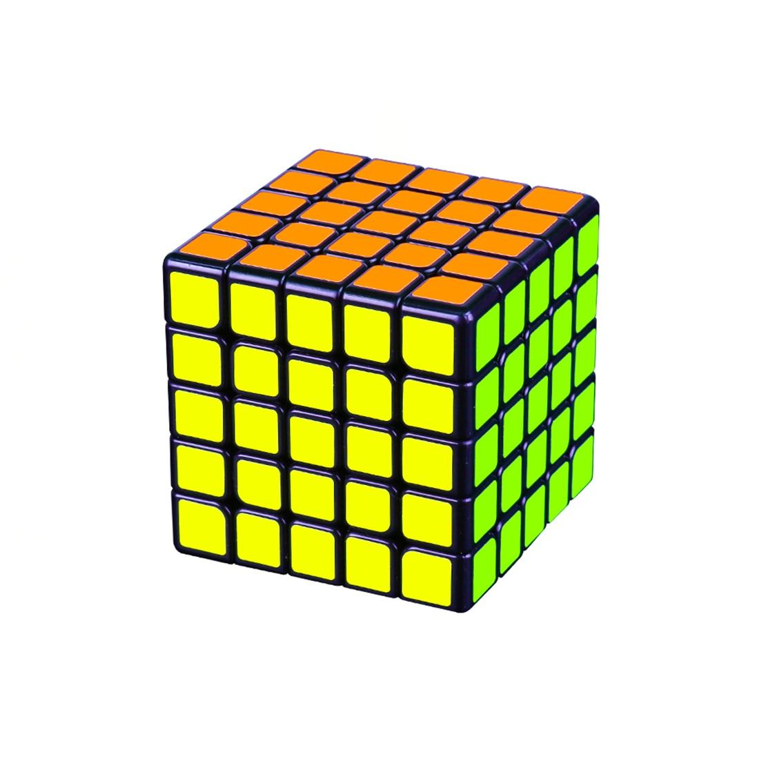 YJ8263 Moyu Aochuang GTS M Version magnétique 5x5 Cube magique pour entraînement cérébral-noir