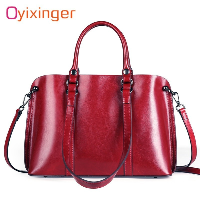 New High Quality Cattlehide Handbags Women Office Work Shoulder Bags Leather Tote Bag Ladies Messenger Bags Bolsos Mujer HandbagNew High Quality Cattlehide Handbags Women Office Work Shoulder Bags Leather Tote Bag Ladies Messenger Bags Bolsos Mujer Handbag