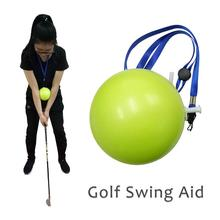 Golf Swing Trainer Inflatable Ball Golf Swing Trainer Aid Po