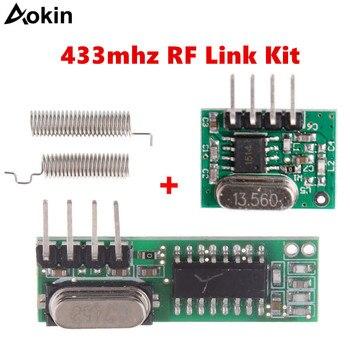 Receptor y módulo Transmisor RF superhetero de 433 Mhz, controles remotos de...