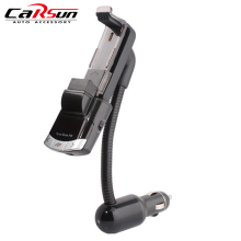 BT8118 Bluetooth Hands-free Call Vehicle Mount Phone Holder MP3 Player USB Fm Transmitter Bluetooth Car Charger Auto Accessories bluetooth car kit hands free phone call talking fm transmitter cigarette lighter plug a2dp mp3 playback