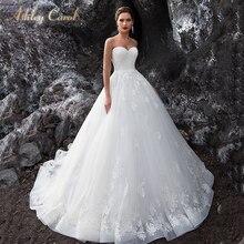 Ashley Carol A-Line Wedding Dress 2019 Sleeveless