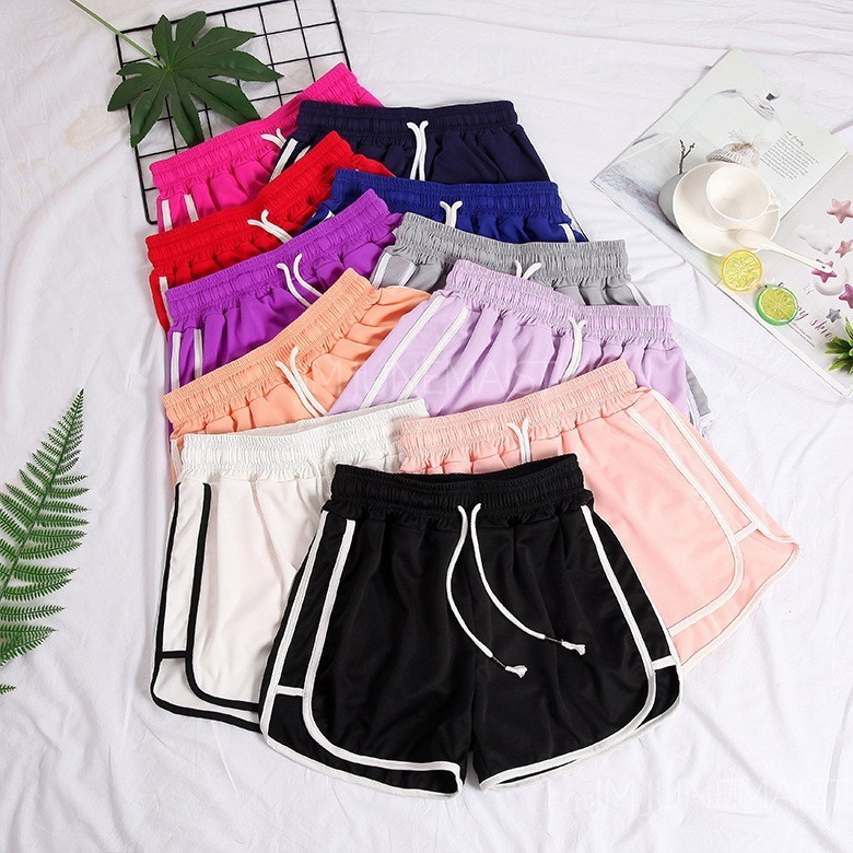Summer Short Sleep Bottoms Women Lounge Pants Sleepwear Elastic Waist Pajama Pants Plus Size 5XL Sleep Lounge Quick Dry Shorts