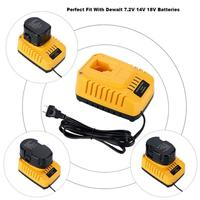 Electric Tool Battery Charger DC9310 for DEWALT 7.2V 18V NiCad & NiMh Battery DW9057 DC9071 DC9091 DC9096