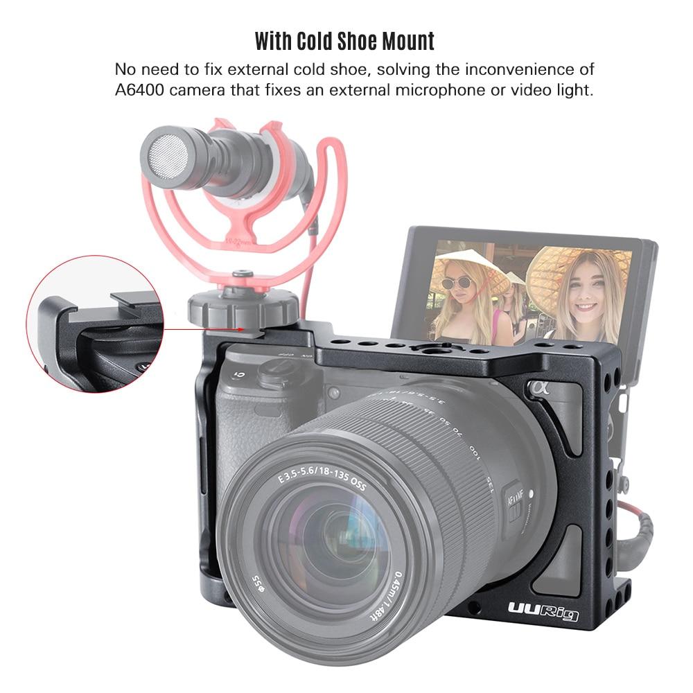 Alpha 9 II A7R IV RX100 VII Case for Sony RX0 II RX100M7 A6400 A6100 A6600