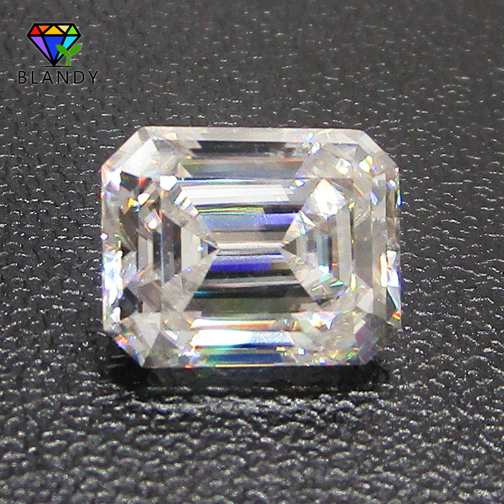 Hot!! 3x5~9x11mm Emeral Cut DEF Color White Moissanites Stones Loose Synthetic Gems For Wedding JewelryHot!! 3x5~9x11mm Emeral Cut DEF Color White Moissanites Stones Loose Synthetic Gems For Wedding Jewelry