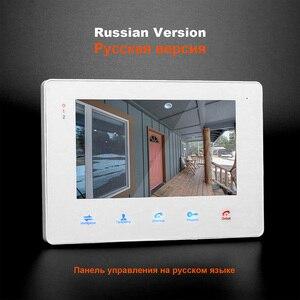Image 4 - Видеодомофон HomeFong для дома, Домашний домофон с 7 дюймовым монитором, 1200TVL, проводная камера Deurbel