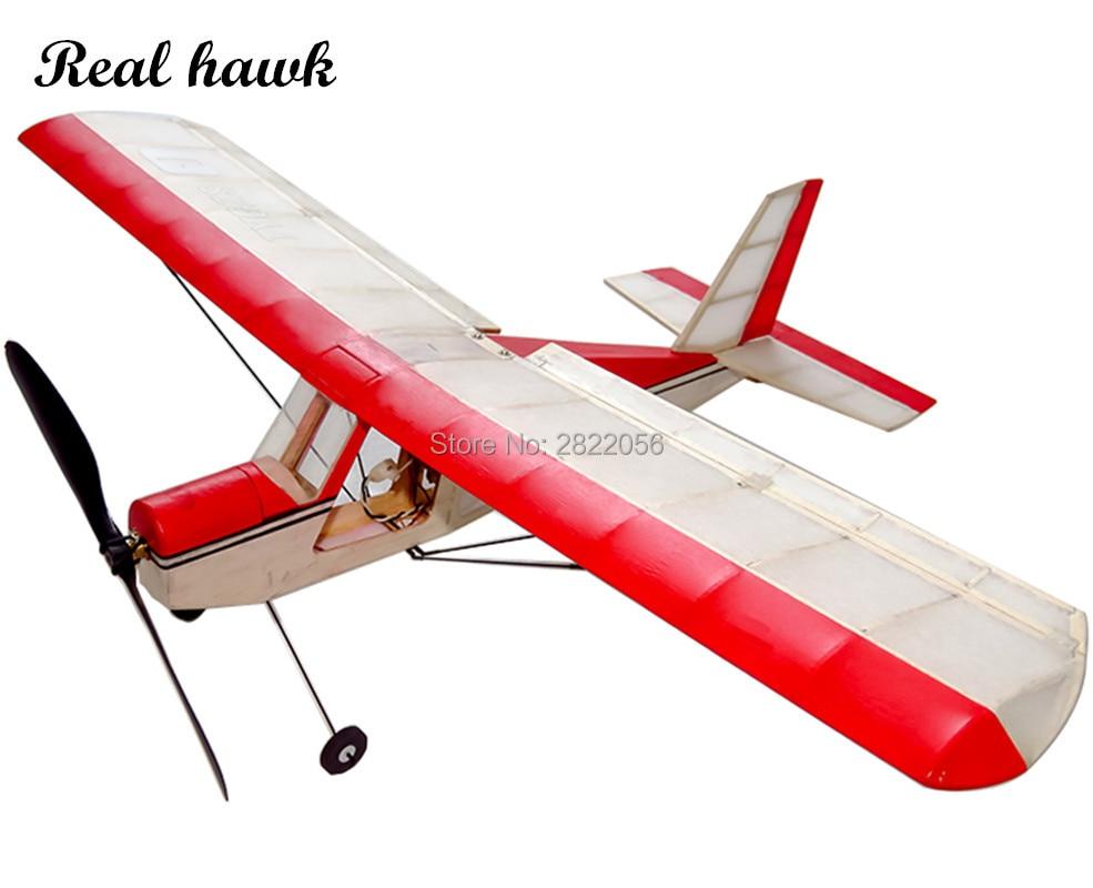 RC Plane Laser Cut Balsa Wood Airplane Micro AEROMAX Kit Wingspan 400mm Balsa Wood Model Building Kit
