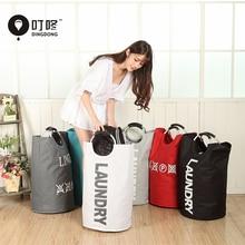 Portable Folding Laundry Basket Bag Hamper  For Toys Clothes Clothing Storage