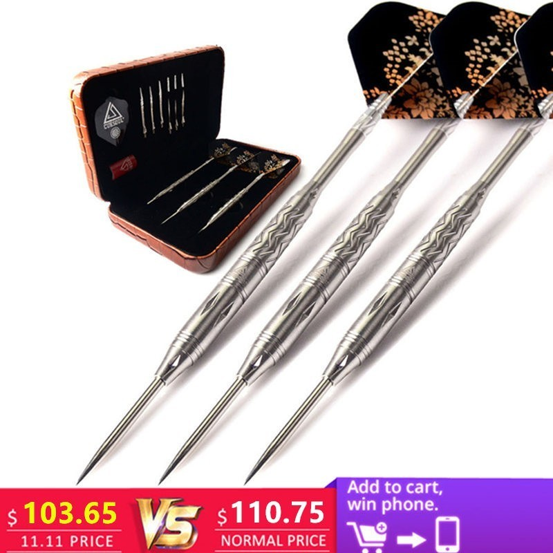 New CUESOUL 3pcs/set 15cm 28g Professional 95% Tungsten Steel Tip Darts With Nice Box new cuesoul 90