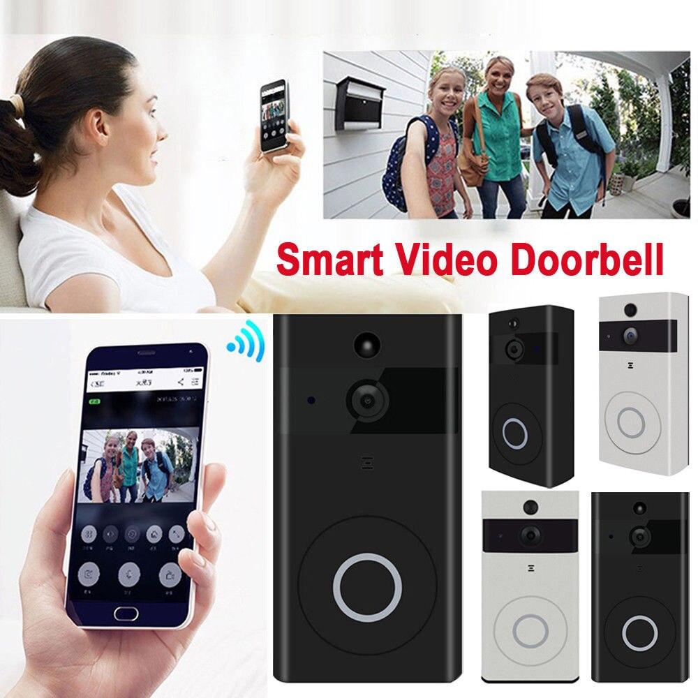 Smart Video Senza Fili WiFi Campanello Citofono Visivo Sicuro Campana Macchina Fotografica di RegistrazioneSmart Video Senza Fili WiFi Campanello Citofono Visivo Sicuro Campana Macchina Fotografica di Registrazione